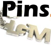 Llavero personalizado con letras